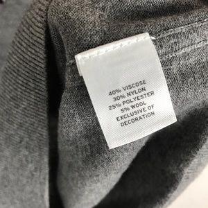 Halogen Tops - Halogen Studded Gray Sweater Top Sz XS Nordstrom